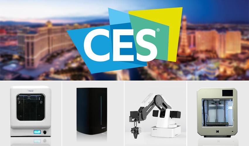 CES Las Vegas 2018 : de nombreuses nouveautés pour l'impression 3D
